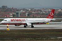 TC-ATB - A321 - Atlasjet
