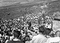 Aire zabaleko meza Igaratzan, San Migelen irudia iristen den egunean 113229.jpg