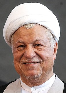 Akbar Hashemi Rafsanjani One of the political figures of the Islamic Republic and the fourth president of Iran