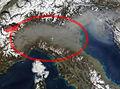 Al ENE, Val d'Aosta a la planura padana.jpg
