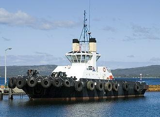 Port of Albany - Albany tug boat Elgin