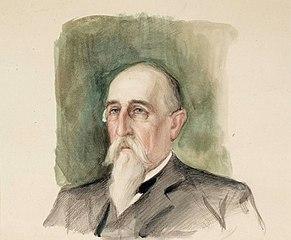 Leo Mechelin, Portrait Study
