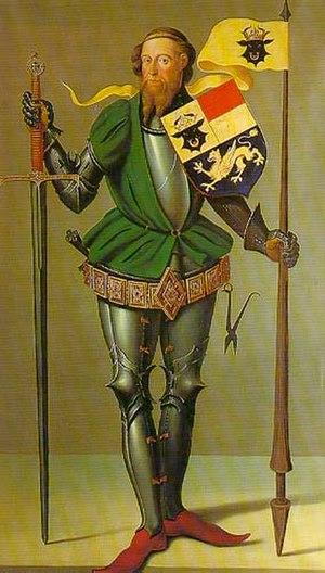 Albert II, Duke of Mecklenburg - Portrait of Duke Albert II of Mecklenburg