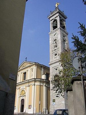 Albino, Lombardy - Sanctuary of Madonna della Gamba.
