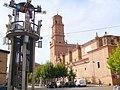 Aldeanueva de Ebro - Monumento de la Plaza de España e Iglesia de San Bartolomé.jpg