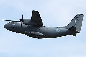 Un C-27J della Lithuanian Air Force.
