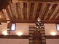 Aleppo (Halab), Mamlukisch gestaltete Decke (13. Jh.)auf der Zitadelle (Qal'at Halab) (24834063758).jpg
