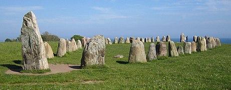 Ales stenar bred