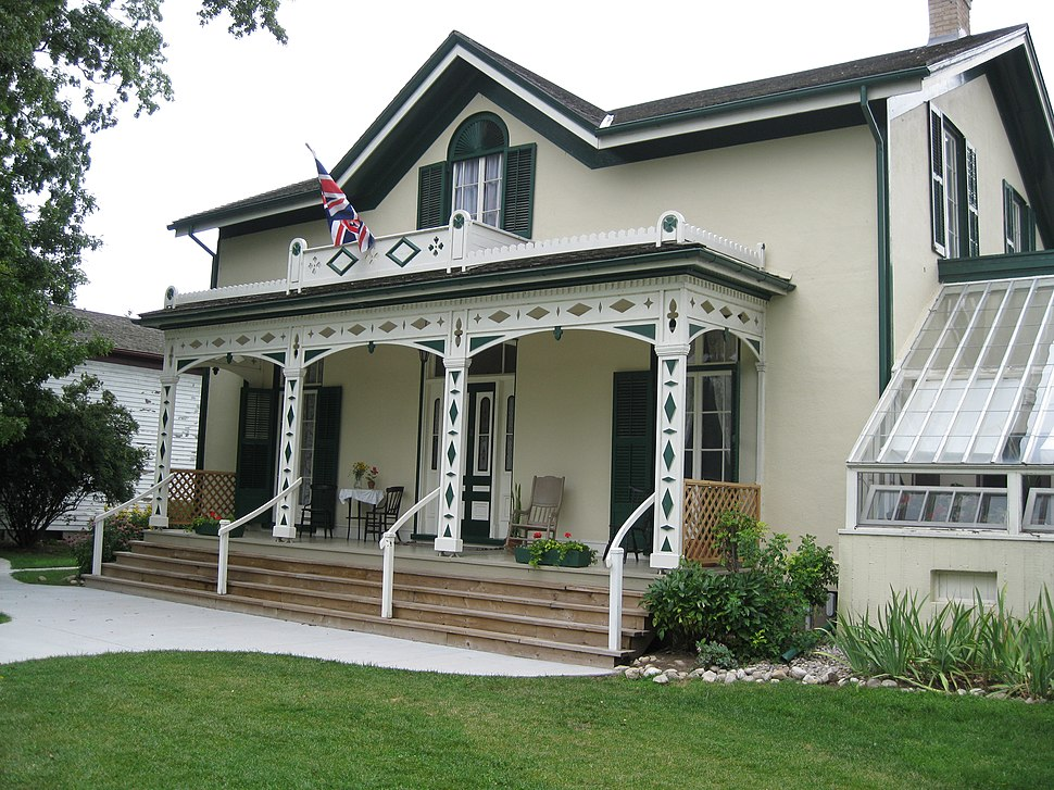 Alexander Graham Bell in Brantford, Ontario, Canada -the Bell Homestead, the Bell Family's first home in Canada, now preserved as a museum to A.G. Bell