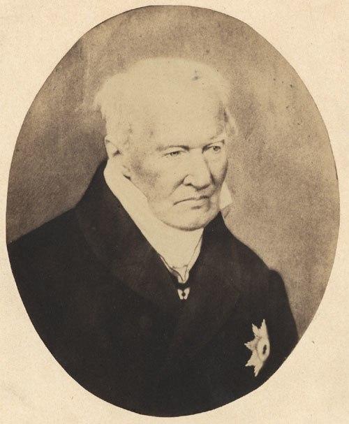 Alexander von Humboldt photo 1857