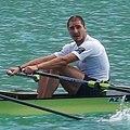 Alexandr Alexandrov from Azerbaijan at the 2015 World Rowing Championships.jpg
