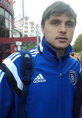 Alexandru Epureanu - Epureanu as a footballer of Başakşehir in 2014