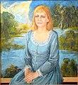 Alexey Kuzmich Portrait of actress Maria Zakharevich 2001.JPG
