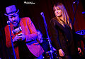 Alexz Johnson and Bleu 2015.jpg