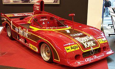 Alfa Romeo 33 SC 12 Sovralimentata 1977 red vr TCE