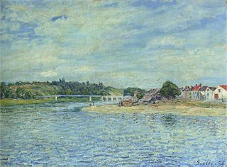 The Seine at Saint-Mammès