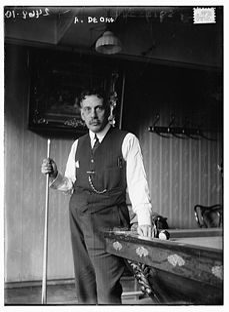 Alfredo de Oro Cuban billiard and pool player