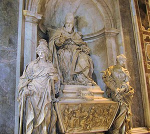 Alessandro Algardi - Tomb of Leo XI