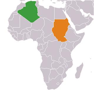 Algeria–Sudan relations Diplomatic relations between the Peoples Democratic Republic of Algeria and the Republic of the Sudan