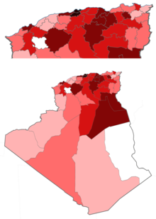 Algeria coronavirus death cases by province.png