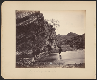 Ali Masjid - Gorge below Ali Masjid during the Second Anglo-Afghan War