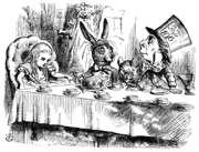 Le Lièvre de mars dans LAPIN - LIEVRE 180px-Alice_par_John_Tenniel_25