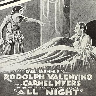 All Night (film) - Poster for the 1922 re-release