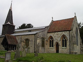 Didcot - All Saints' parish church, dating to 1160