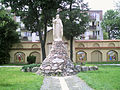 All Saints church in Włocławek - Statue of Christ blessing - 02.jpg
