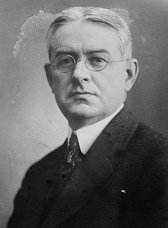 1916 United States presidential election in Arizona - Image: Allan Louis Benson (1871–1940) circa 1915 (cropped)