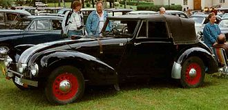 Allard - M-Type Drophead Coupé 1948