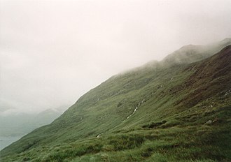 Morar - The northern slopes of Morar
