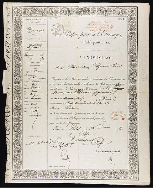 Файл: 1846.jpg Альфонсин паспорт Plessis