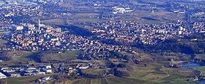 Alpignano - Alpignano from mount Musinè