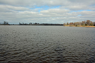 Altamaha River - Altamaha River looking towards the Atlantic Ocean