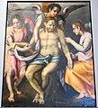 Altare ansaldi con pietà di pier francesco foschi (attr.) e allegoria del martirio per fede di vincenzo baldini (1822) 02.JPG