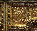 Altare di s. ambrogio, 824-859 ca., fronte dei maestri delle redentore tra apostoli e simboli evangelisti 02.jpg