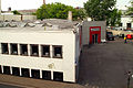 Alte Kleiderfabrik Wilh. Boetticher mechanische Weberei und Kleiderfabrik Weidendamm 6 Hannover jetzt Sport Kaufmann Blick über das Gebäude.jpg