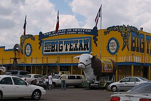 Man v. Food - The Big Texan Steak Ranch in Amarillo