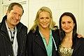 Ambassador Brzezinski, Malena Ernman and Natalia Brzezinski.jpg