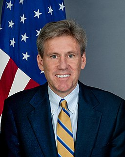 J. Christopher Stevens American diplomat, lawyer and ambassador to Libya
