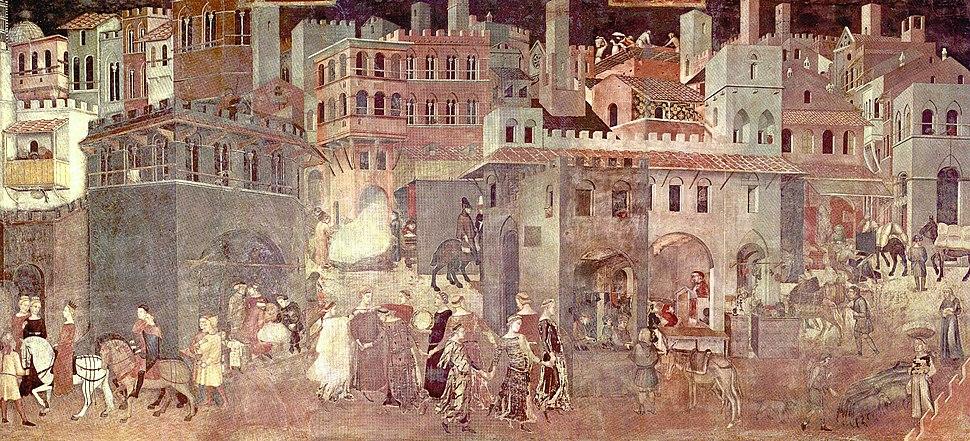 Ambrogio Lorenzetti Allegory of Good Govt