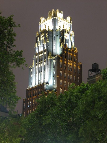 File:American Radiator Building at night.jpg