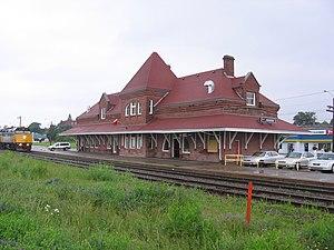 Amherst, Nova Scotia - Amherst railway station