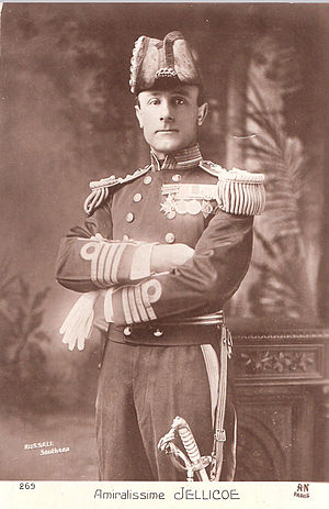 John Jellicoe, 1st Earl Jellicoe - Admiral, or as the French knew him: Amiralissime Jellicoe
