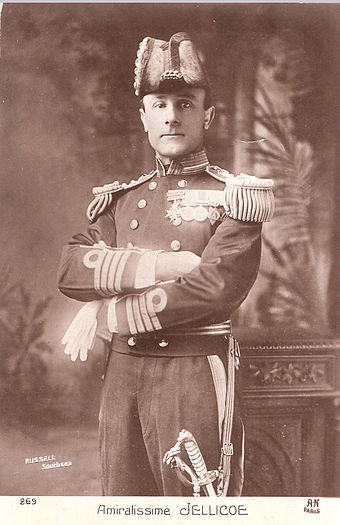 Admiral, or as the French knew him: Amiralissime Jellicoe, shown as a Captain earlier in his career AdmiralissimeJellicoe.jpg