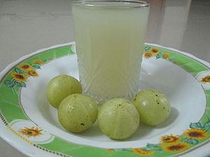 Amla (Indian gooseberry juice)