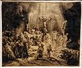 Amsterdam - Rijksmuseum - Late Rembrandt Exposition 2015 - The Three Crosses 1653 B.jpg