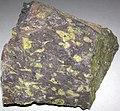 Amygdaloidal basalt (Portage Lake Volcanic Series, upper Mesoproterozoic, 1.093 to 1.097 Ga; Keweenaw Peninsula, Upper Peninsula of Michigan, USA) 7.jpg