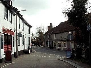 Great Baddow Human settlement in England